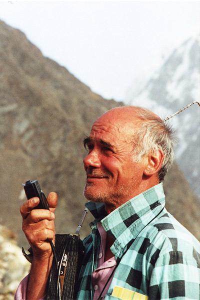 альпинисты безенги